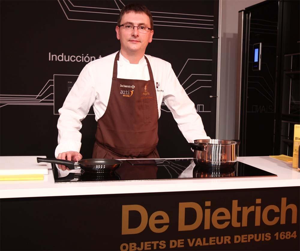 Andoni Luis Aduriz-Show-cooking
