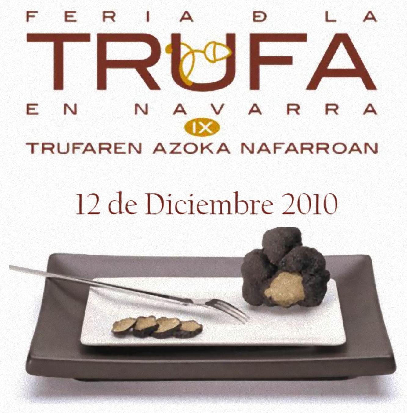 Feria de la trufa 2010 en Navarra
