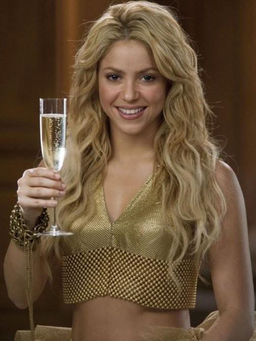 Shakira anuncio Freixenet