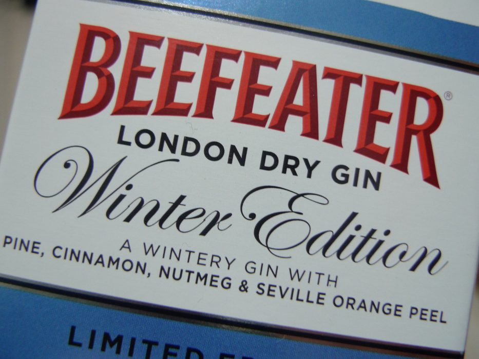 Beefeater Winter Edition