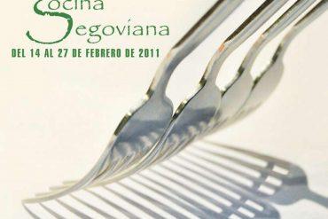 Cartel XIX Semana de Cocina Segoviana