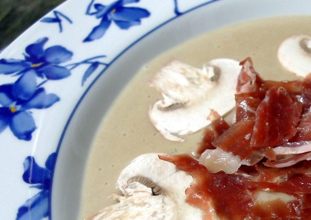 crema de champiñon y jamón_1