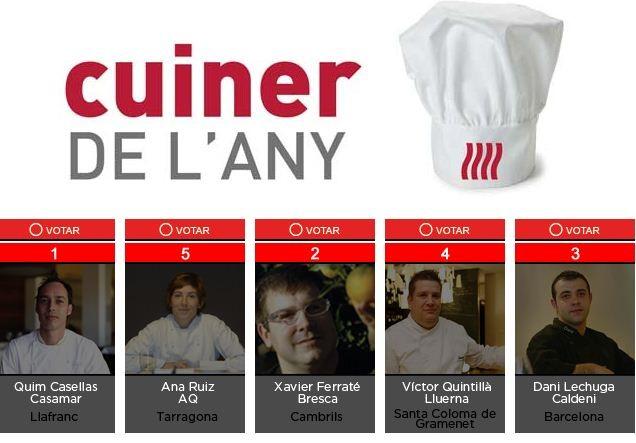 Fòrum Gastronòmic de Girona 2011 cuiner de l'any