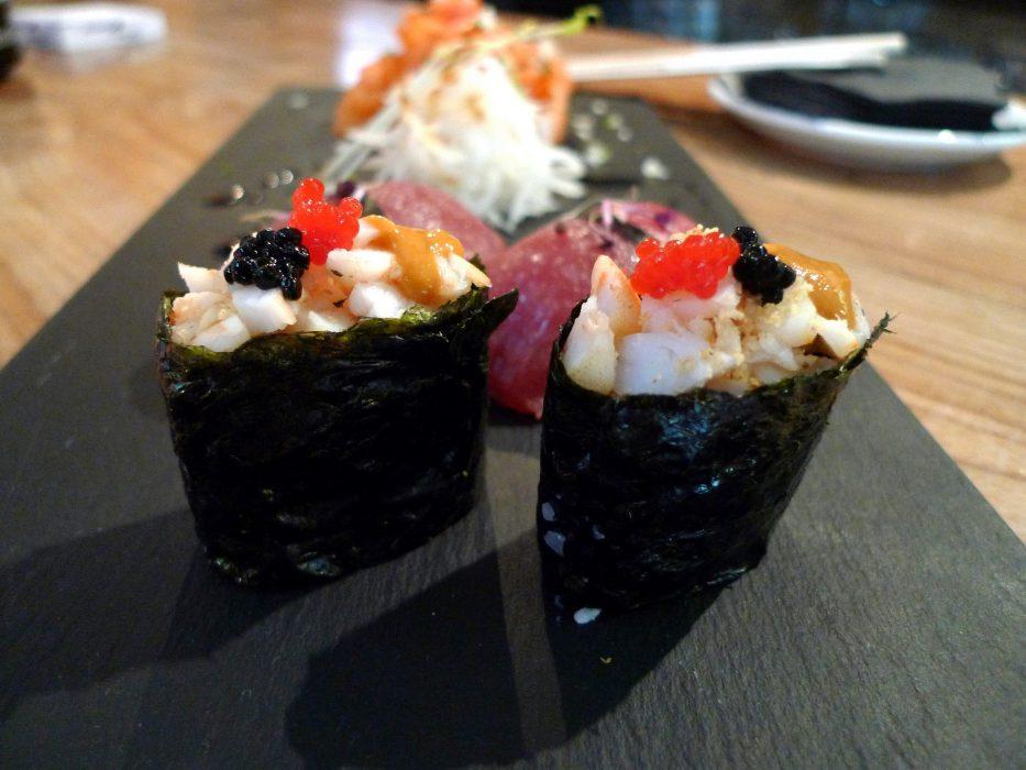 El Desierto Rojo en Valladolid es un restaurante japonés muy actual