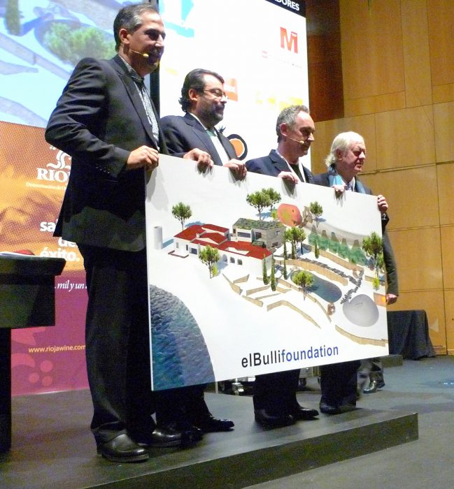 Presentación de elbullifoundation en Madrid Fusion 2011