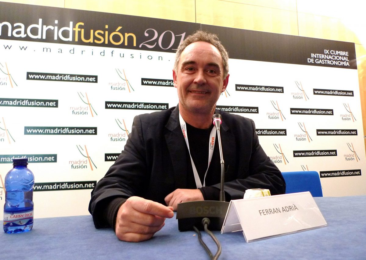 Ferran Adria - Madrid Fusion