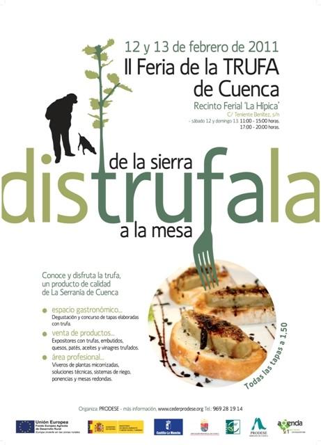 Cartel Feria Trufa 2011