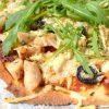 pizza casera de pollo