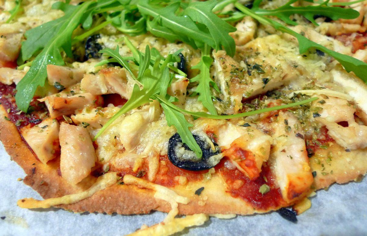 Receta De Pizza Casera De Pollo