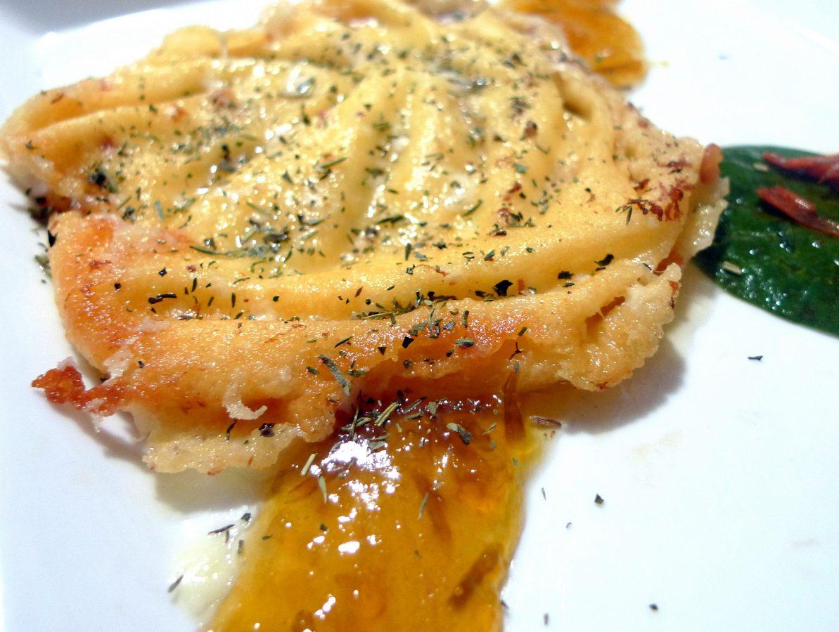 queso provolone a la plancha