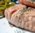 salmon confitado
