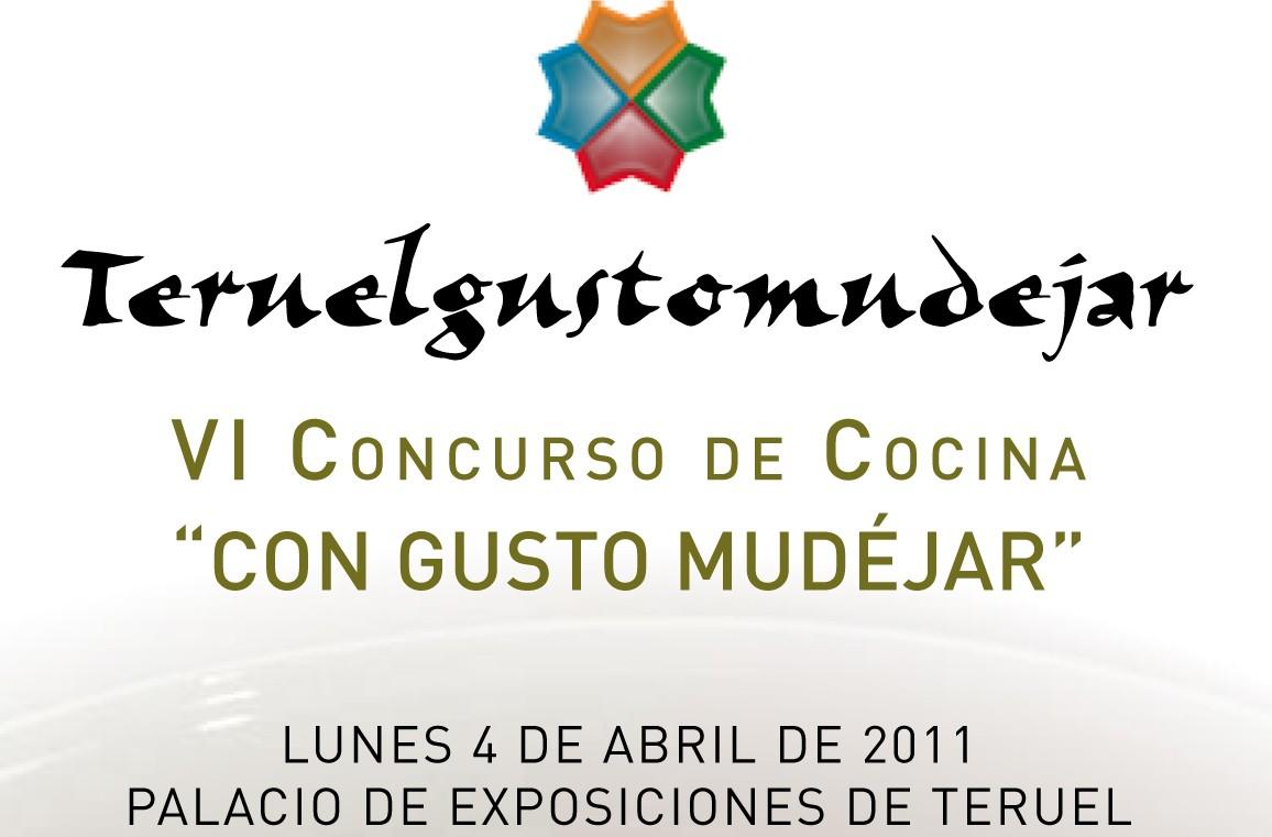 Cartel VI Concurso de Cocineros Con Gusto Mudéjar
