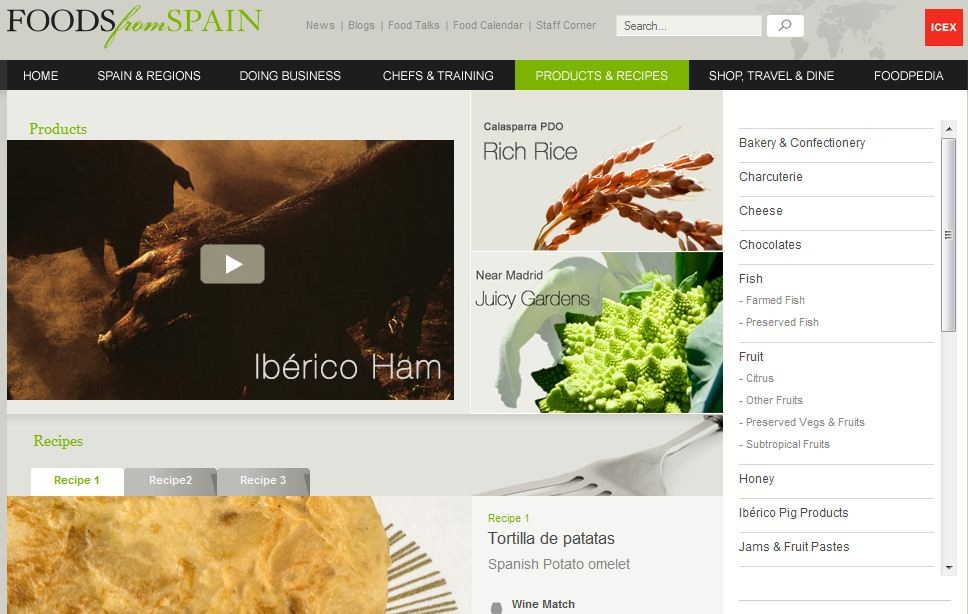 Foods from spain