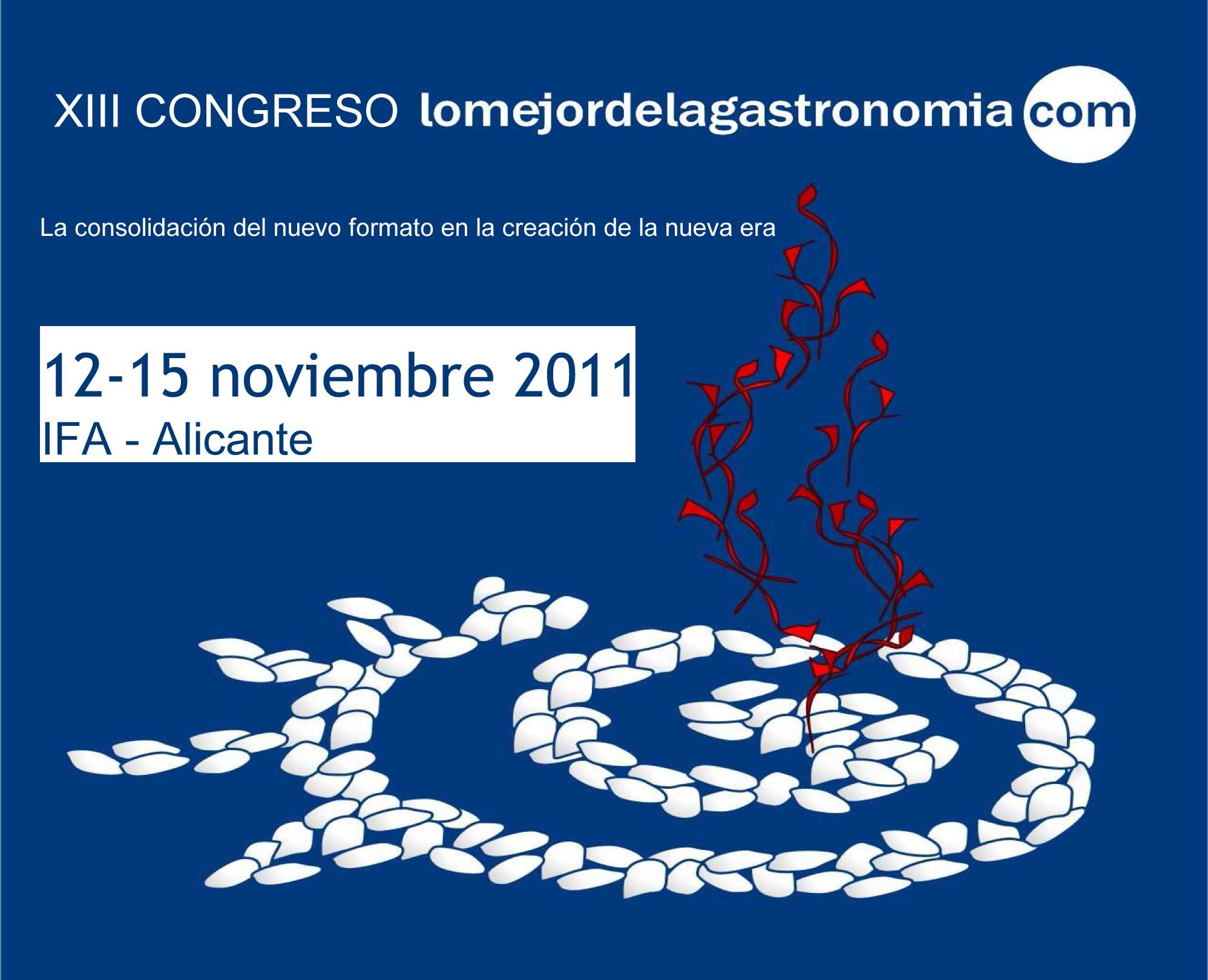 Congreso Lo Mejor de la Gastronomía 2011