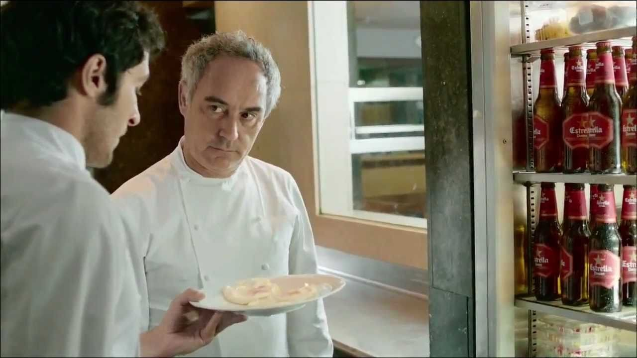 Anuncio Estrella Damm 2011 el Bulli - Ferran Adria