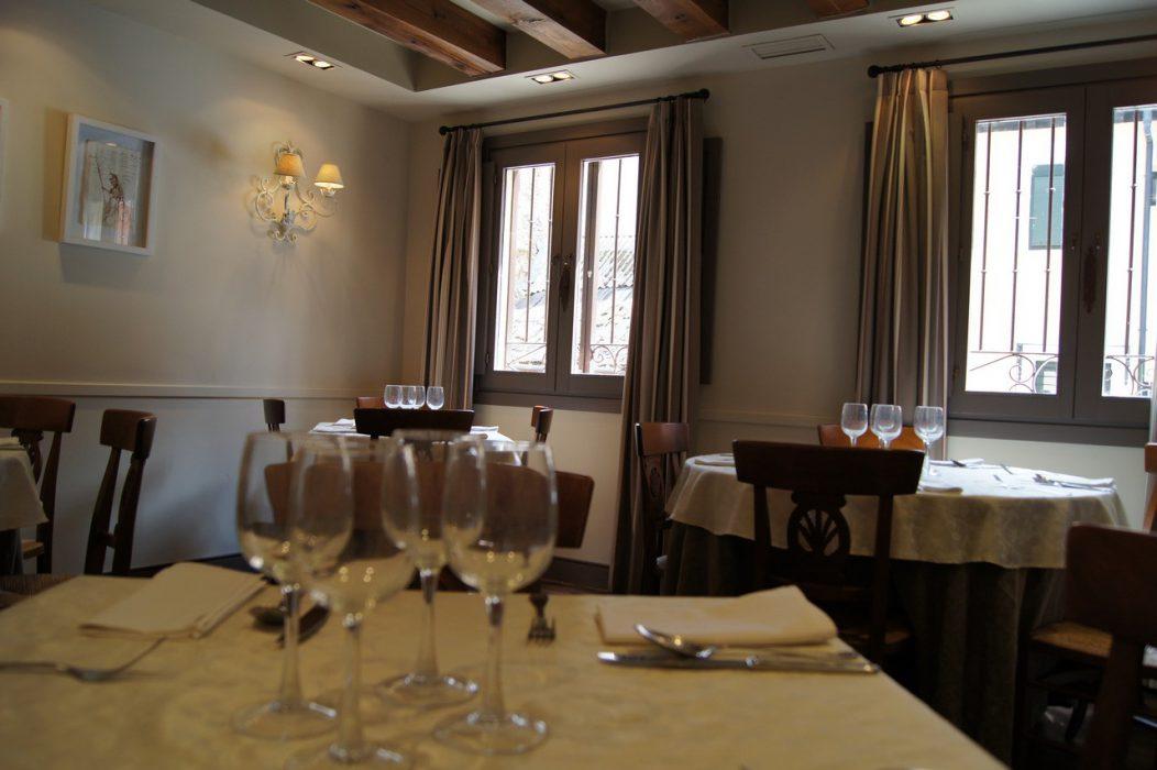 Interior del Restaurante Casa Zaca de La granja de San Ildefonso