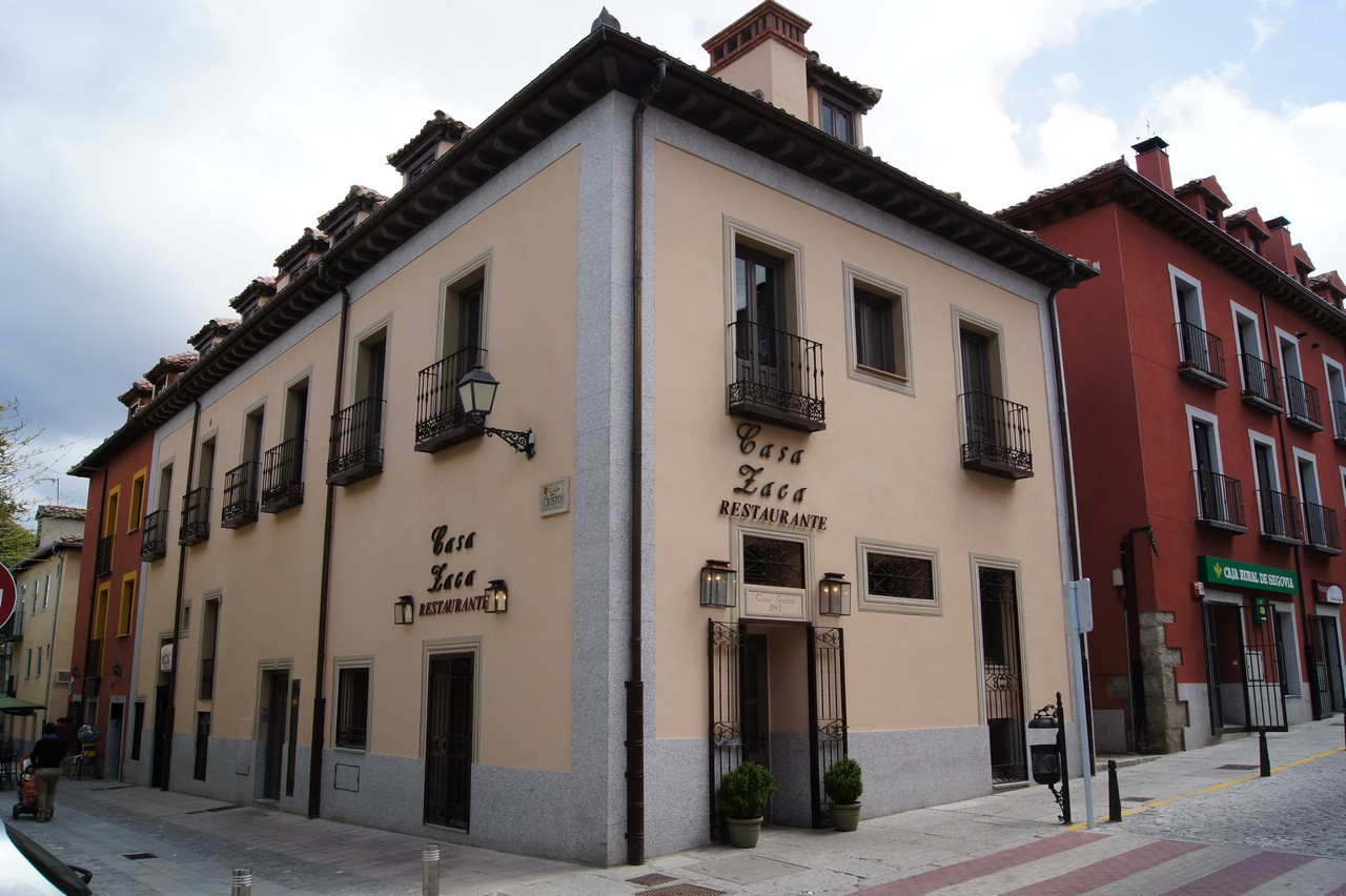 Restaurante Casa Zaca - fachada