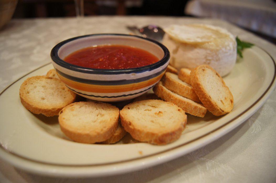 Restaurante Casa Zaca - Queso de Segovia con Mermelada de Tomate