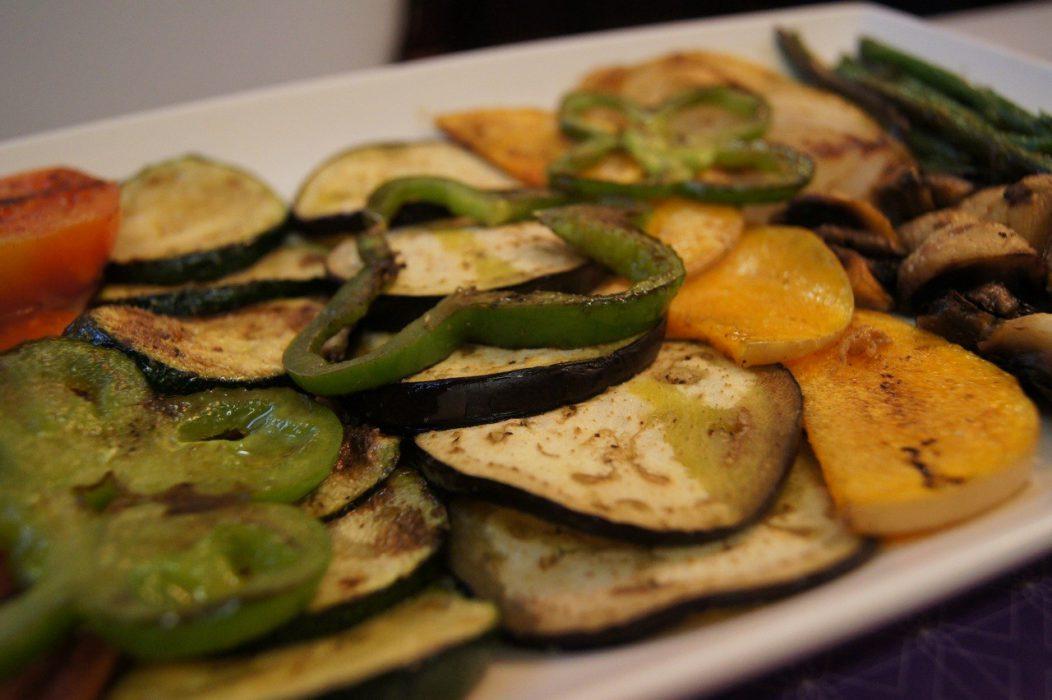 Restaurante la alhondiga - Parrillada de verduras