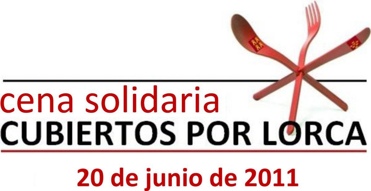 """Cena Solidaria """"Cubiertos por Lorca"""""""