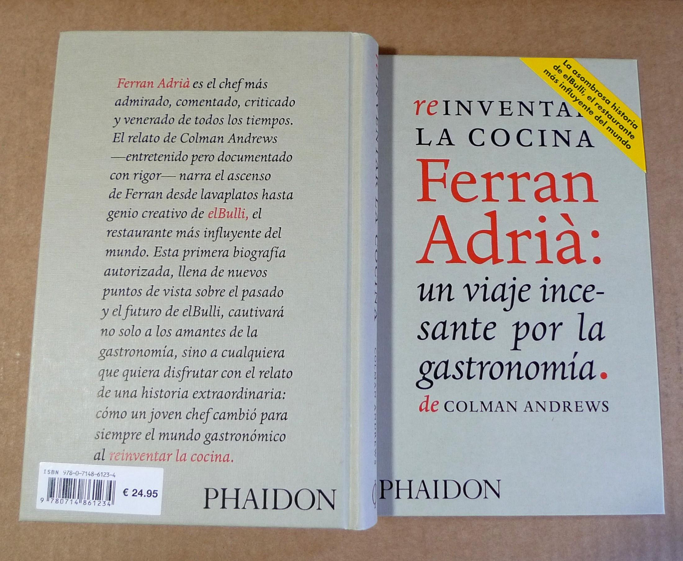 Ferran Adrià: Reinventar la cocina