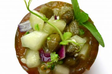 Gazpacho de pepino y kumato