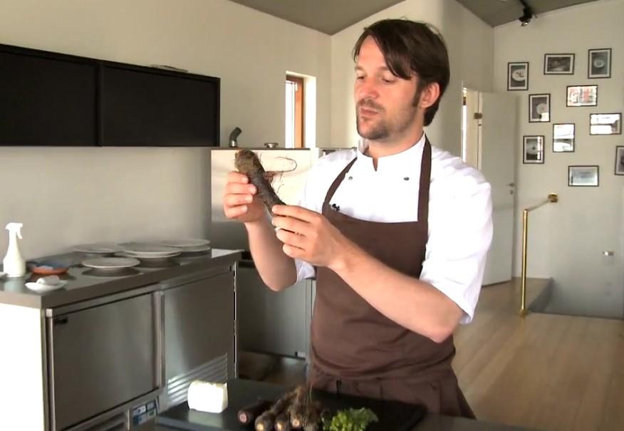 Vídeo recetas del cocinero Réne Redzepi