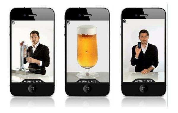 Iker Casillas, tirador de cervezas