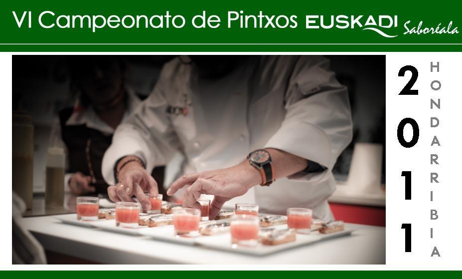 Campeonato de Pintxos Euskadi 2011