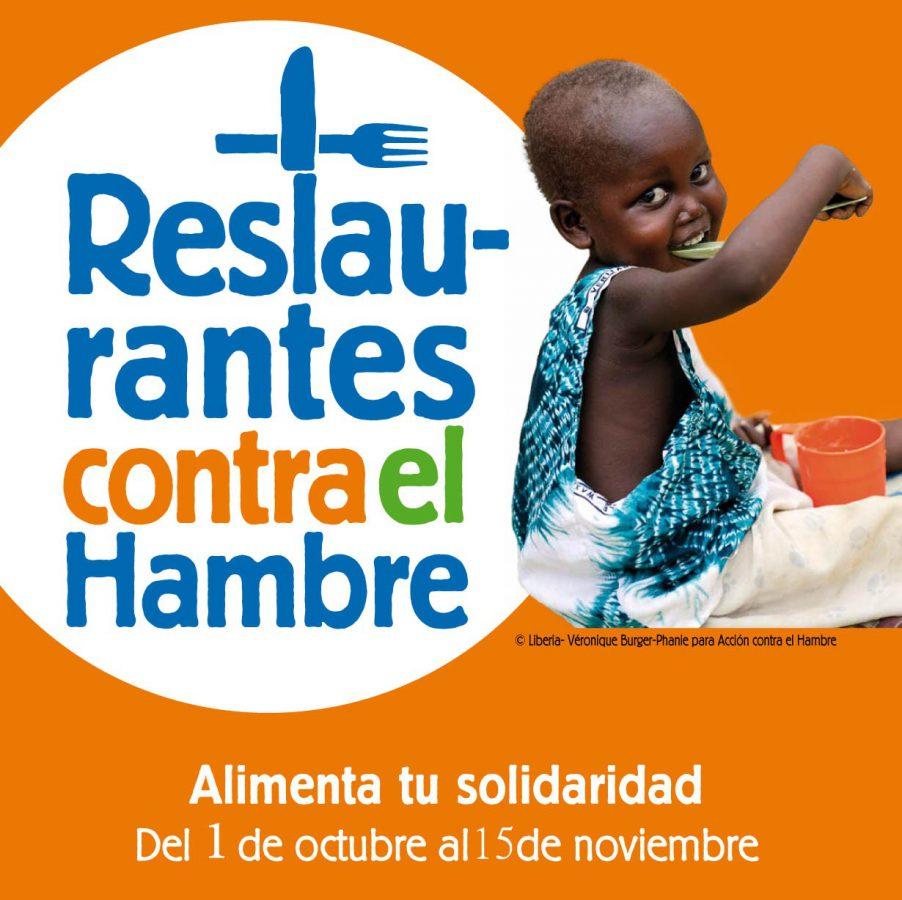 restaurantes contra el hambre 2011 - cartel