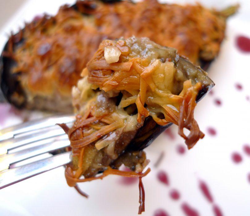 berenjena rellena de carne picada 4