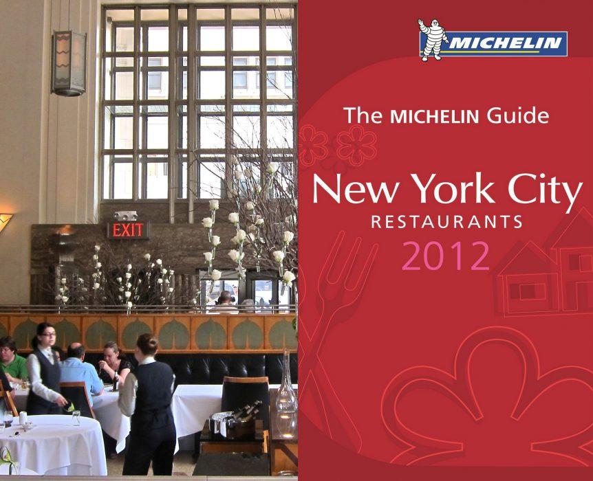 guia michelin nueva york 2012