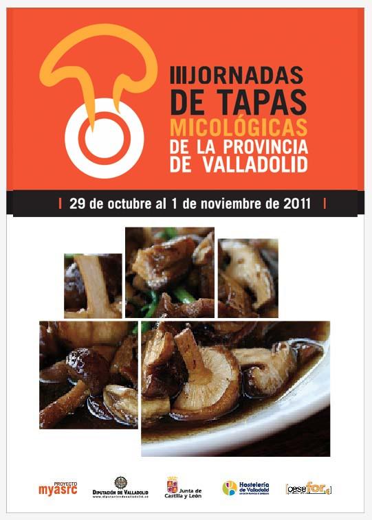III Jornadas de Tapas Micológicas de la Provincia de Valladolid