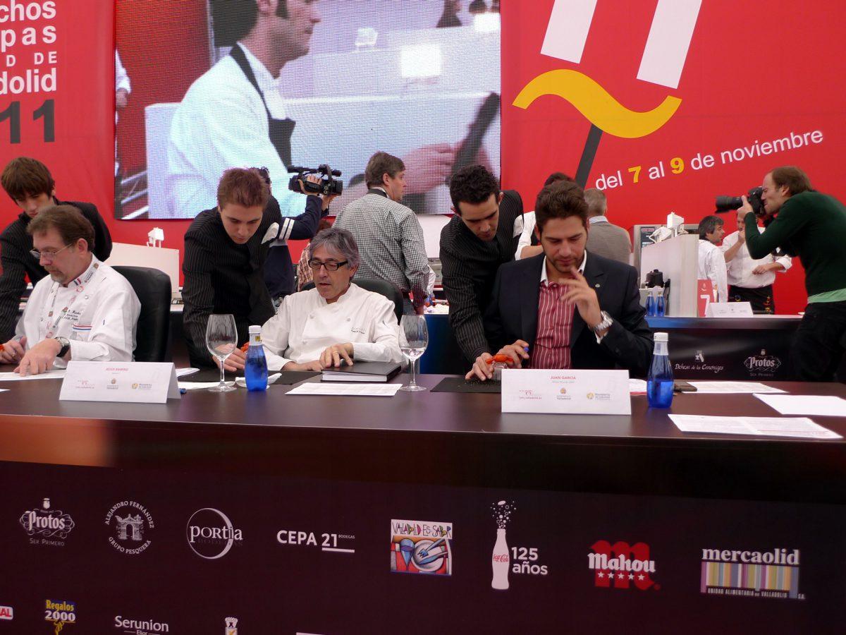 Jurado Concurso Nacional Pinchos y tapas de Valladolid