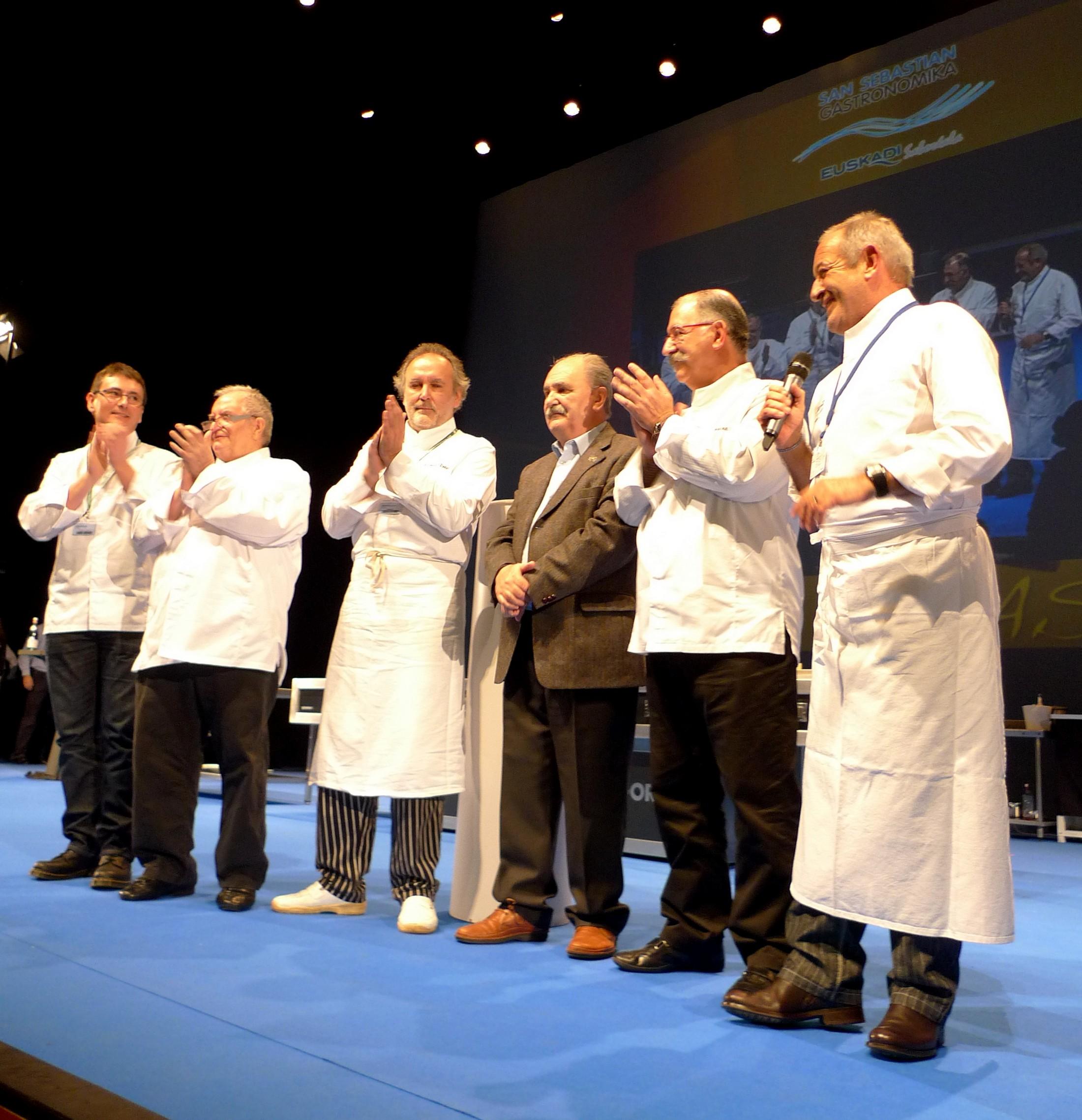Luis Irizar en San Sebastian Gastronomika 3