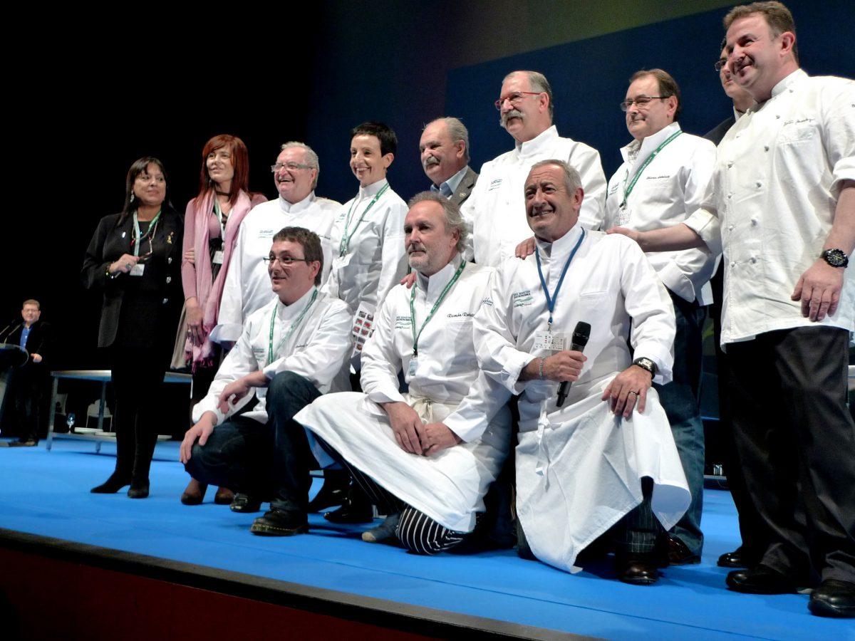 Luis Irizar en San Sebastian Gastronomika 5