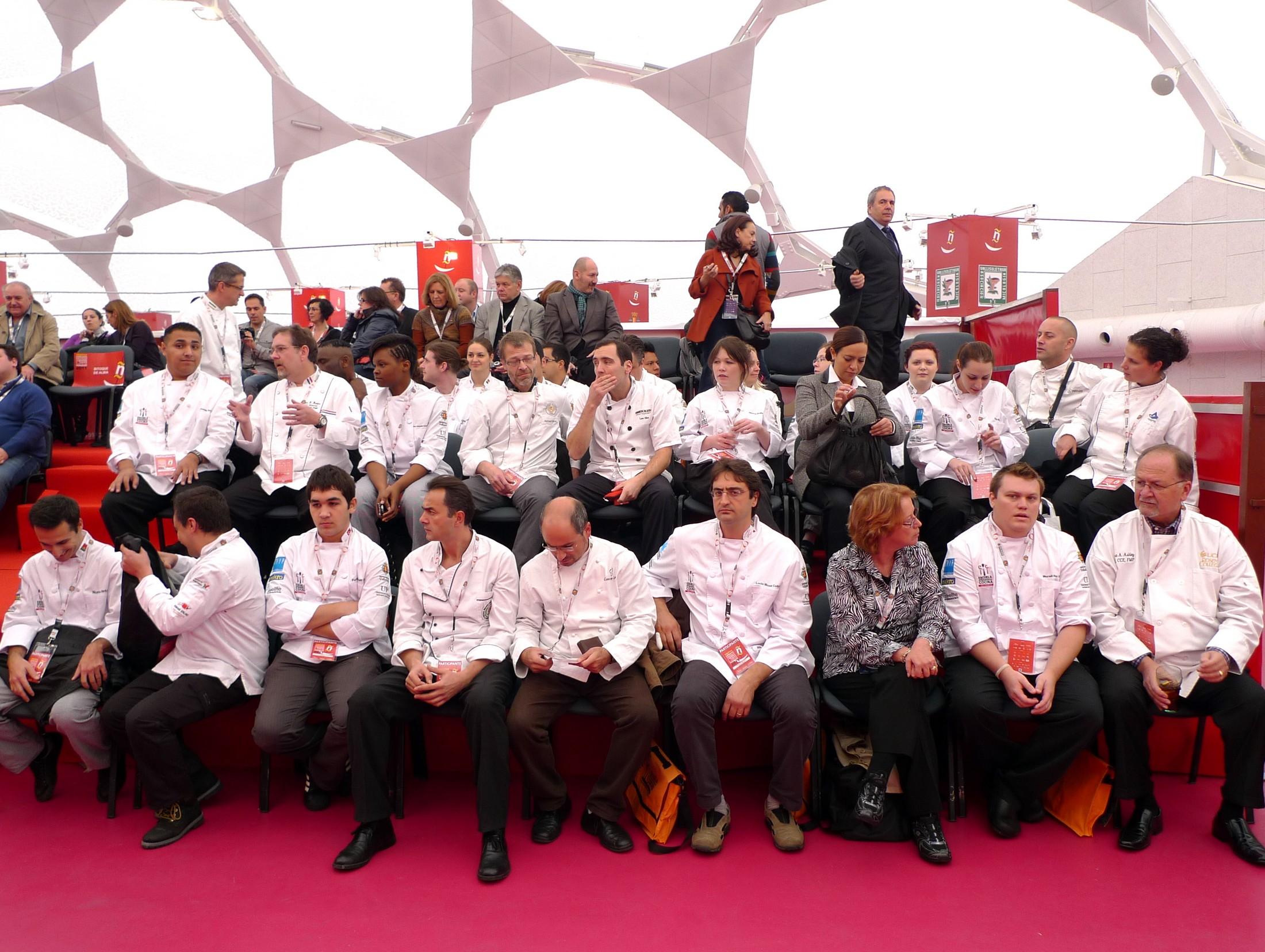 Participantes III Concurso Internacional de la Tapa 1