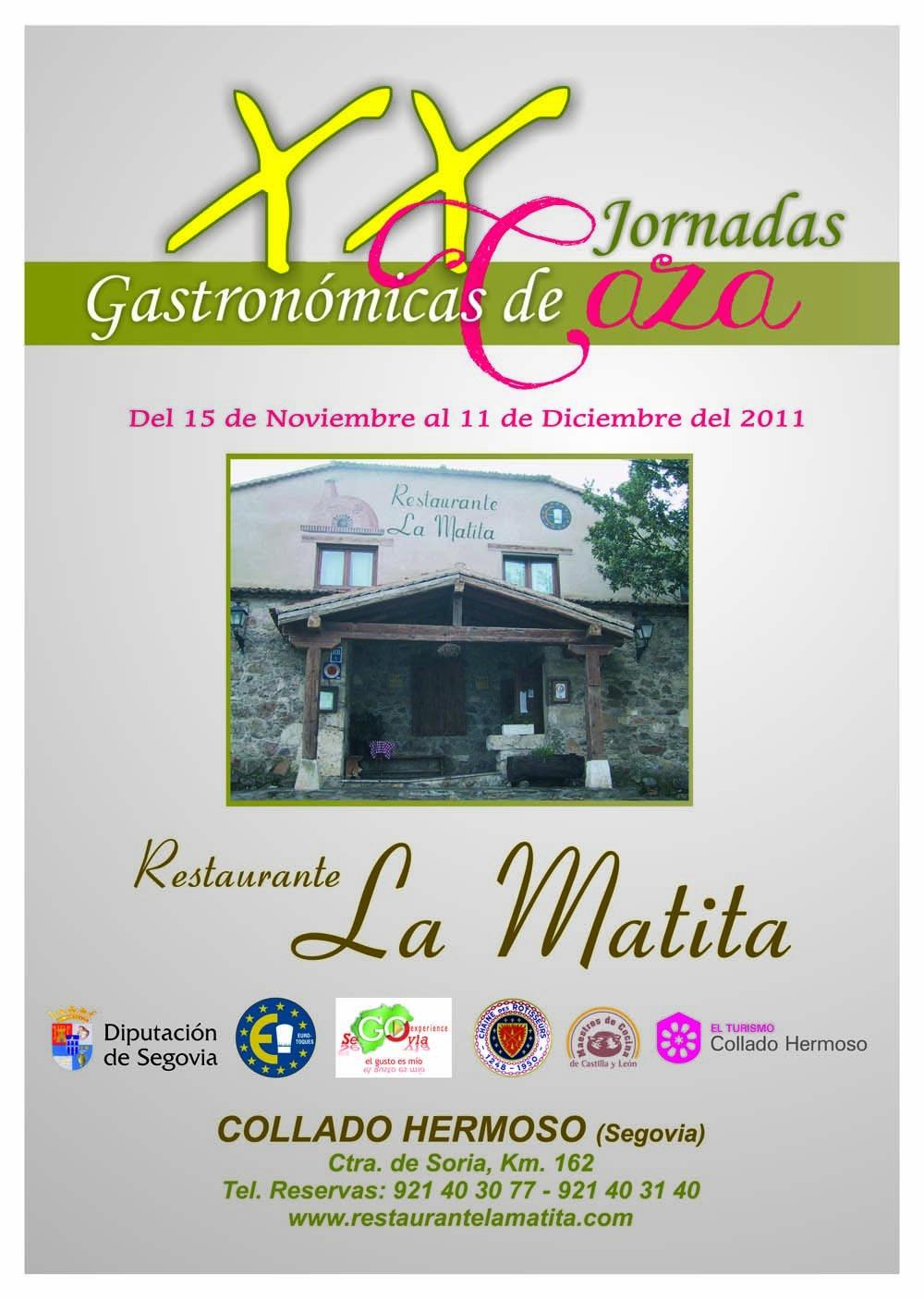 XX Jornadas Gastronómicas de Caza
