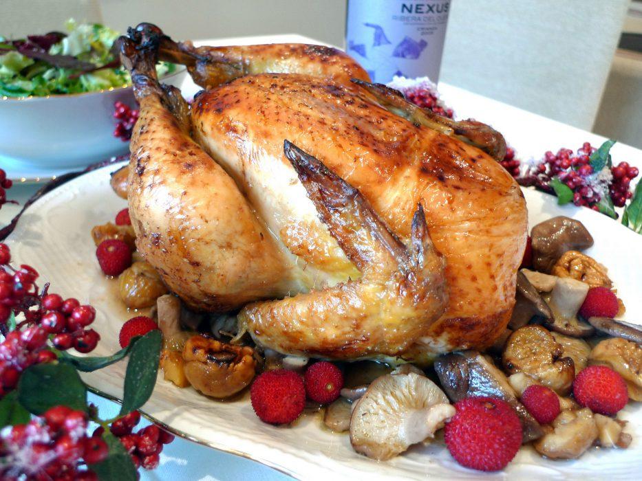 Pollo relleno para Navidad 10
