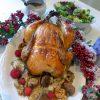 Pollo relleno para Navidad 6