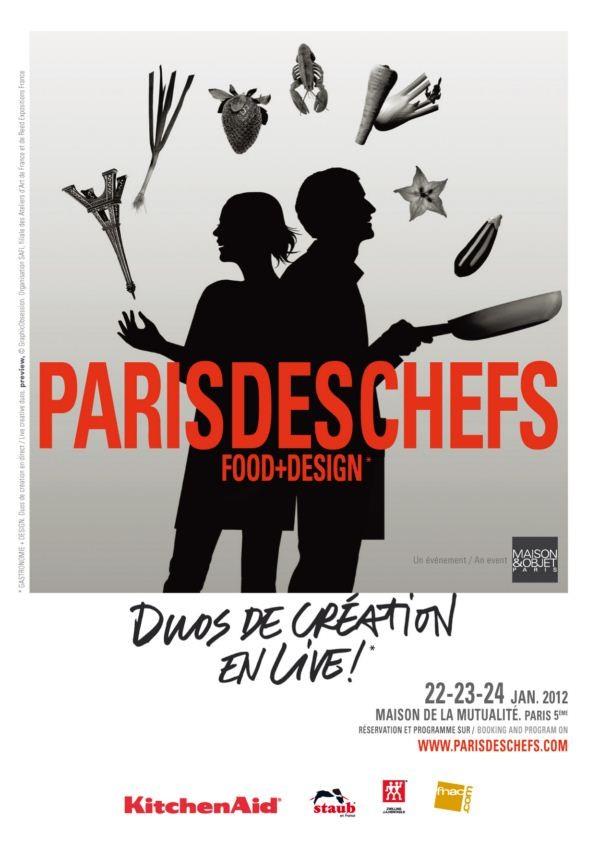 Cartel París des chefs 2012