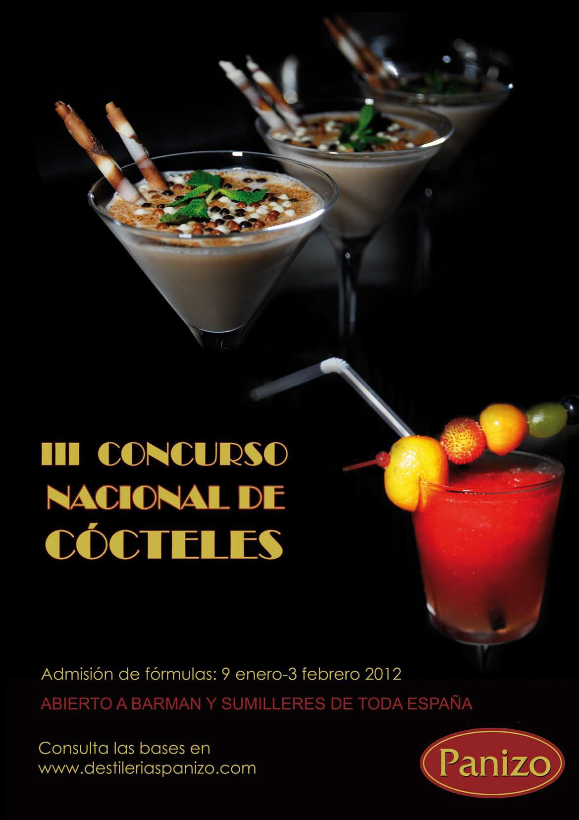 Concurso Cocteles Panizo 1