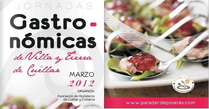 jornadas gastronomicas de villa y tierra de cuellar 2012