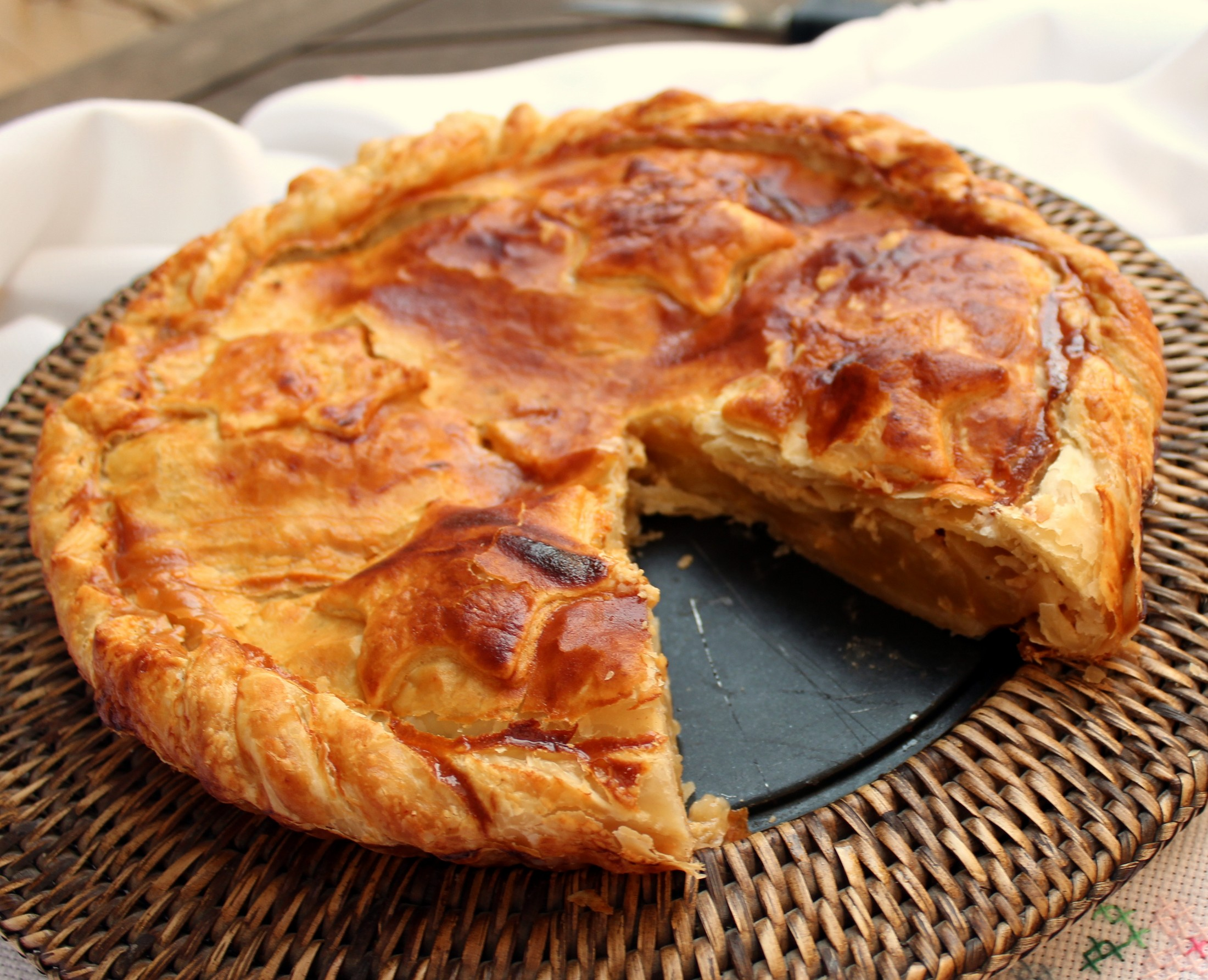 Tarta de Manzana al estilo American apple pie-5