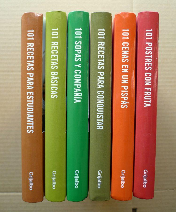 Colecci n de libros 101 recetas de grijalbo for Cocinar para 9