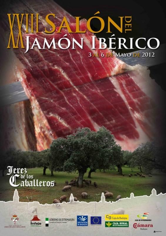 Cartel Salón del Jamón Ibérico 2012