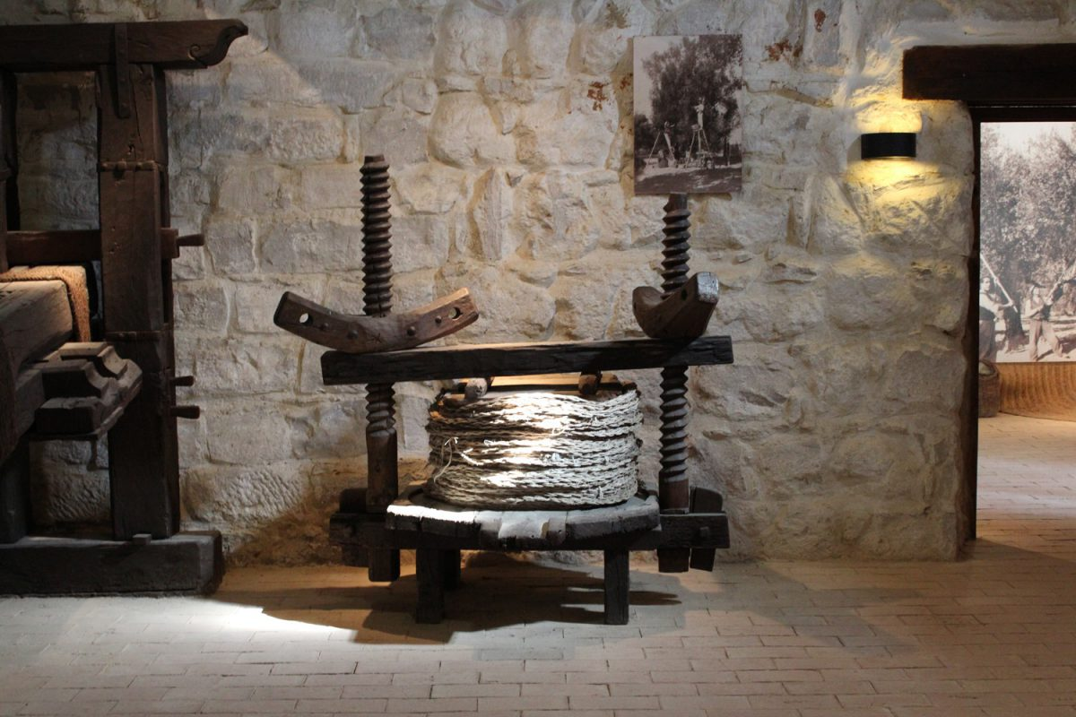 prensa museo del aceite de oliva