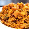 Arroz alicantino de pescado y verduras