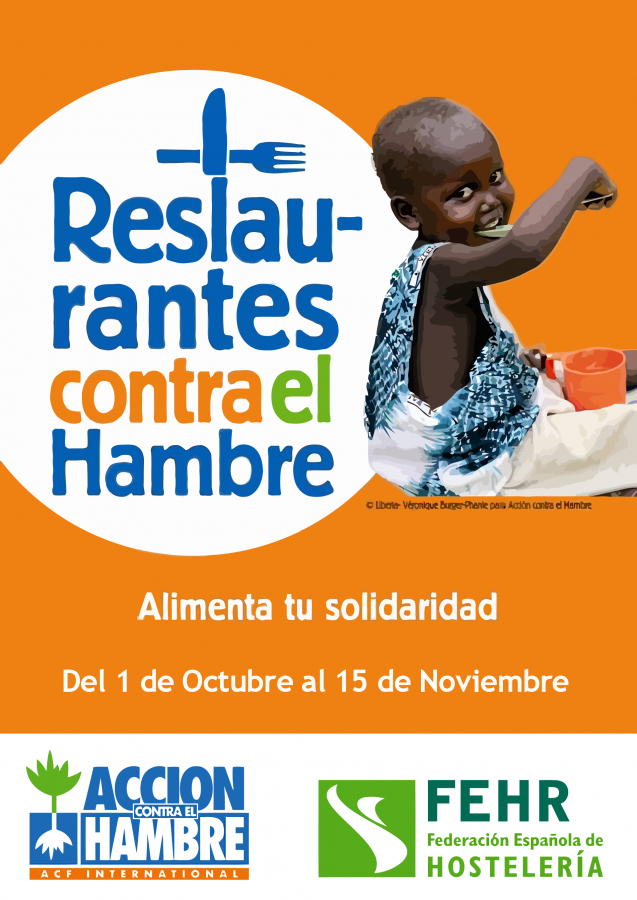 Campaña Restaurantes contra el hambre 2012
