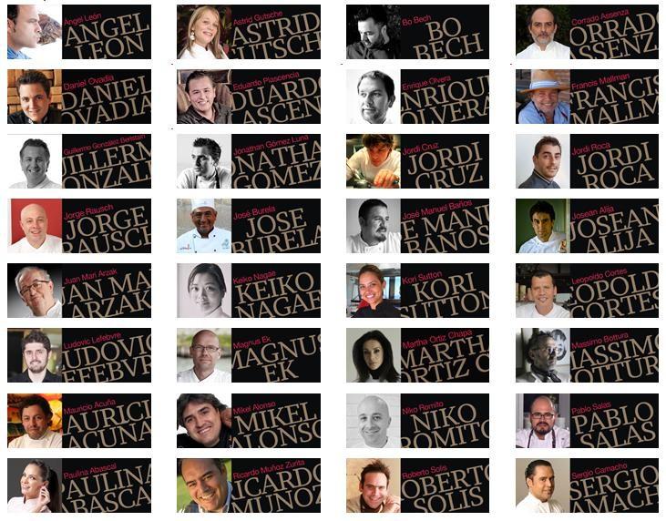 cocineros participantes madrid fusion mexico 2012